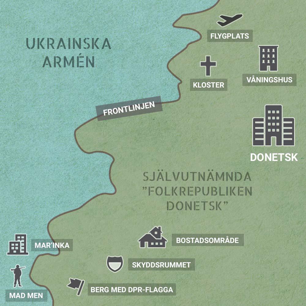 Wi-fi points of Donetsk and Donetsk region